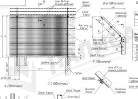 ОПБ 3D с Г-образным наконечником + АКЛ. Монтажно-сборочная схема (PDF)